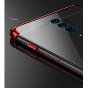 Oppo Reno 10x Zoom Soft Rubber Laser Plating Ultra Slim Super HD Phone Case Cover Casing