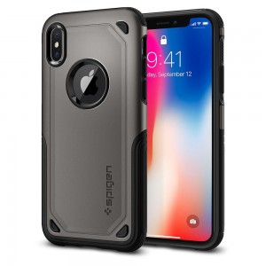 IPHONE X Hybrid Armor Case Cover Casing