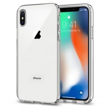 Liquid Crystal IPHONE X Case Cover Casing