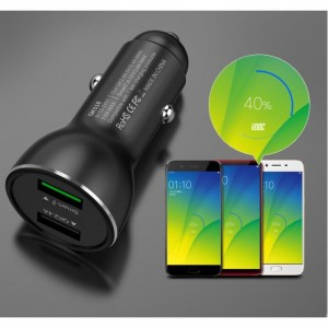ONEPLUS 3 5 5T 6 DASH CHARGE / QUICK CHARGE / HUAWEI FCP CAR USB CHARGER