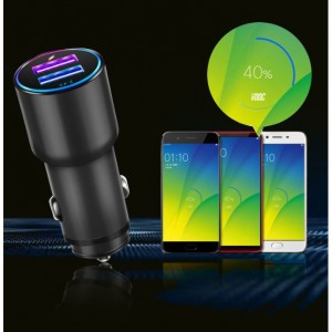 Huawei SuperCharge Vooc Qualcomm Quick Charge OnePlus Dash Charge All In One Fast Charge Car USB Charger Adapter