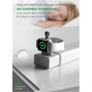 Mini Wireless Magnetic USB Charger For Apple Watch 5 4 3 2 1 Universal Charger For iWatch Series