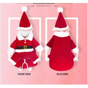 Merry Christmas XMAS New Year Dog Vest Cat Neteye Cotton Clothes Pet Wear Appliances Shirt Small Puppy Coat