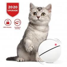 Smart Cat Toy Ball 2020 Version USB Rechargeable Led Light 360 Degree Self Rotating TIKTOK Viral