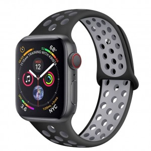 Soft Silicone Replacement Wristband for iWatch Apple Watch Series 1/2/3/4/5 Apple Watch Band