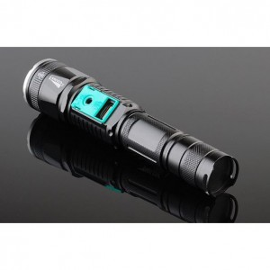 LED USB Rechargeable Flashlight XML TL-S6 linterna torch 18650 Battery Outdoor Camping Powerful LED Flashlight CREE T6