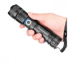 50000 Lumens XLamp xhp50 Most Powerful Flashlight USB Zoom Led Torch Light Torchlight