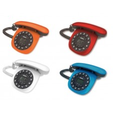 Uniden AT8601 Retro Design Corded Speaker Phone Home Office TM Unifi Landline Telephone