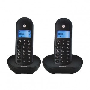 Motorola Twin DECT Digital Cordless Landline Speaker Phone T102 Office Home House TM Unifi Line Maxis Time