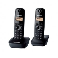 PANASONIC Twin Digital Cordless Phone DECT Phone KX-TG1612ML KX-TG1612 TG1612 Office Home House TM Unifi Telephone