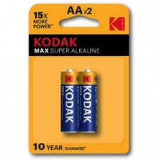 KODAK MAX Super Alkaline AA Battery (2pcs Pack)