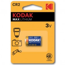 KODAK Max Lithium CR2 3V Lithium Camera Remote Control Battery