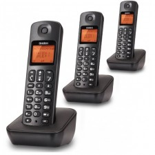 Uniden AT3100-3 TRIPLE CORDLESS DECT Phone Office Home House TM Unifi Line Landline Telephone