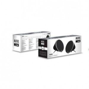 ALTEC LANSING TWIN WIRELESS BLUETOOTH STEREO PORTABLE SPEAKER (1 Pair)