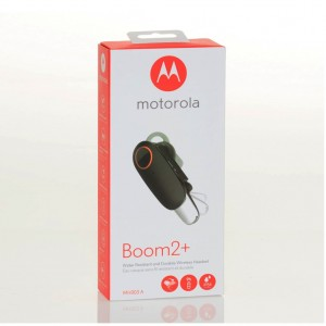 Motorola Boom 2+ Water Resistant & Durable Wireless Headset