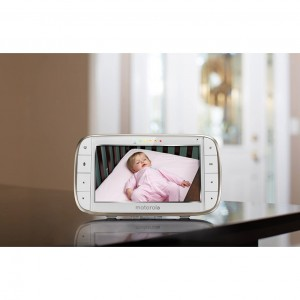Motorola MBP855CONNECT Portable 5-Inch Color Screen Video Baby Monitor with Wi-Fi