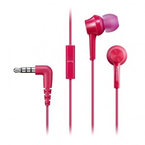 Panasonic RP-TCM115-K TCM115 Wired In-Ear Earphone Headphone