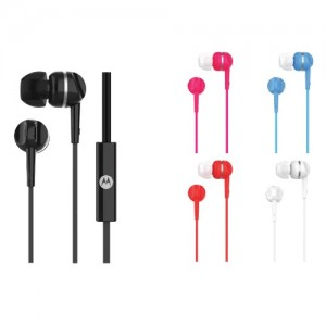 Motorola Wired Earphone PACE 105 In-Ear Headphone