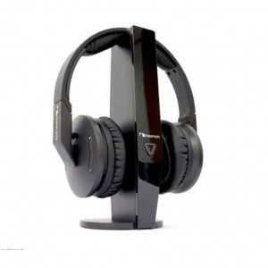 Nakamichi NW7000 Wireless Stereo Over-Ear Headphone with Comfortable Noise Cancelling Ear Pads