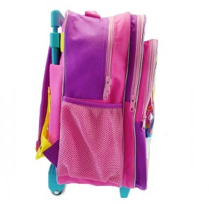 MY LITTLE PONY PARTY PRIMARY SCHOOL TROLLEY BAG (6 Wheel)
