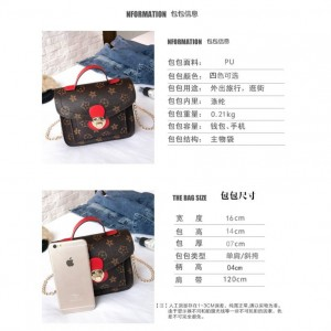 Flowers Print Small Camera Handle Sling Bag