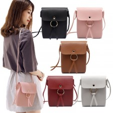 Korean Design Retro Circle Mini Sling Bag