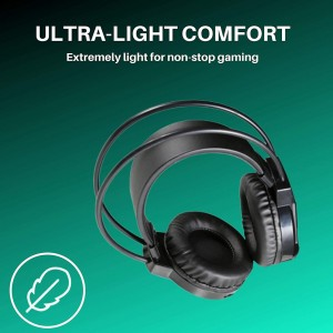 HP H100 WIRED HIGH PERFORMANCE GAMING HEADSET with Microphone for PC Xbox PS4 Nintendo Switch