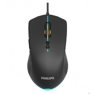 PHILIPS SPK9404 - RAINBOW BACKLIT 6 BUTTONS - WIRED USB OPTICAL SENSOR MOUSE