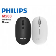 PHILIPS M203 2.4G WIRELESS OPTICAL MOUSE ( SPK7203 ) - DESKTOP / LAPTOP