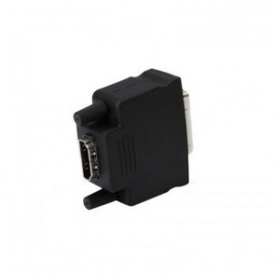 PROLINK PB008 HDMI FEMALE-DVI MALE ( DVI-D Plug > HDMI A SOCKET ADAPTOR ) - Black