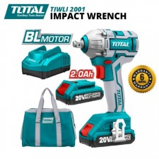 TOTAL 20V BRUSHLESS MOTOR CORDLESS IMPACT WRENCH
