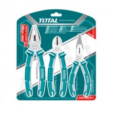 TOTAL HEAVY DUTY DYNA GRIP PLIER SET - 3PCS