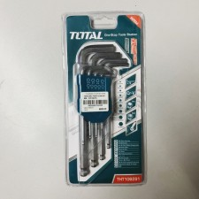 TOTAL HEAVY DUTY HEX KEY WRENCH / ALLENKEY SET