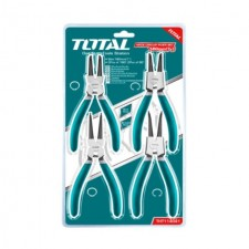 "TOTAL HEAVY DUTY CIRCLIP PLIER SET 7""-180MM (4PCS)"