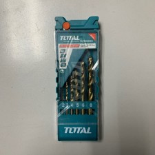 TOTAL HEAVY DUTY HSS TWIST DRILL BIT SET - 6PCS
