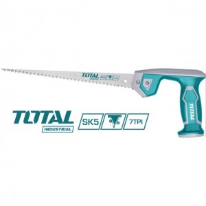 "TOTAL HEAVY DUTY CARPENTER WOOD SAW / HAND SAW 12""-300MM"