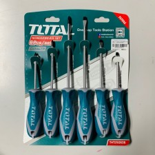 TOTAL HEAVY DUTY SCREWDRIVER SET - 6PCS