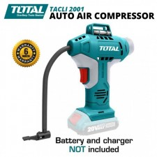 TOTAL 20V AUTO AIR COMPRESSOR