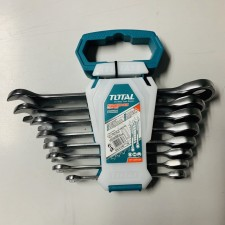 TOTAL HEAVY DUTY COMBINATION RATCHET WRENCH / RATCHET SPANNER SET - 8PCS KING TOYO