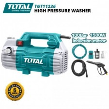 TOTAL 1500W 100BAR HIGH PRESSURE WASHER / PRESSURE CLEANER