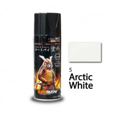 SAMURAI METALLIC SPRAY PAINT - ARCTIC WHITE 5 (400ML)