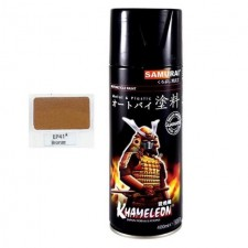 SAMURAI METALLIC SPRAY PAINT - BRONZE