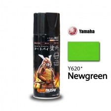 SAMURAI METALLIC SPRAY PAINT - Y620 (400ML) NEW GREEN (ANCHOR / AIKKA GRADE)
