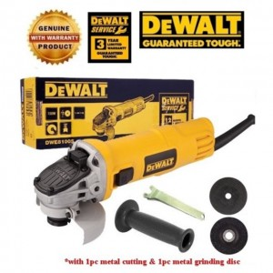 DEWALT 100MM 720W SLIDE SWITCH ANGLE GRINDER
