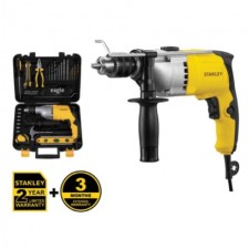 STANLEY 720W 13MM IMPACT HAMMER DRILL COMBO KIT