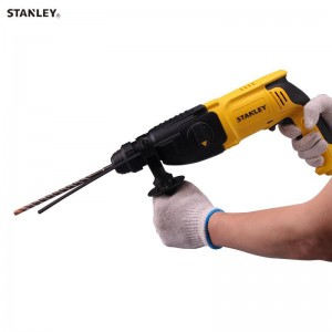 STANLEY 800W 26MM SDS PLUS 3 MODE ROTARY HAMMER / IMPACT HAMMER DRILL