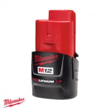 MILWAUKEE M12 2.0AH RED LITHIUM-ION BATTERY