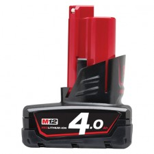 MILWAUKEE M12 4.0AH RED LITHIUM-ION BATTERY