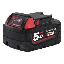 MILWAUKEE M18 5.0AH RED LITHIUM-ION BATTERY