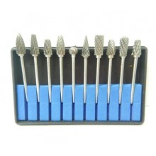 10 Dental Burrs Dental Lab Titanium Nitrate Carbide